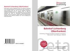 Copertina di Bahnhof Lichtenberg (Oberfranken)