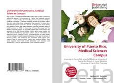 University of Puerto Rico, Medical Sciences Campus的封面