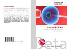 Portada del libro de Protein Isoform