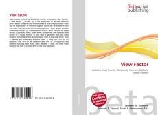 Buchcover von View Factor