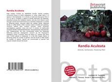 Capa do livro de Randia Aculeata