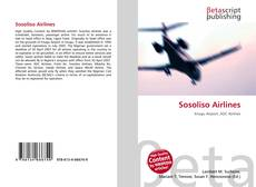 Bookcover of Sosoliso Airlines