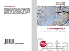 Bookcover of Taekwang Group