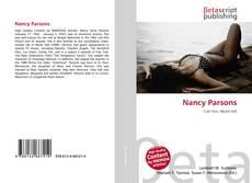 Couverture de Nancy Parsons