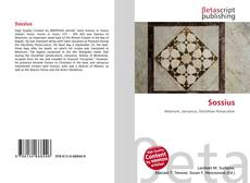 Sossius kitap kapağı