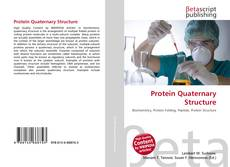 Bookcover of Protein Quaternary Structure