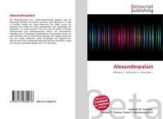 Buchcover von Alexanderpalast