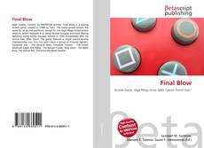 Bookcover of Final Blow