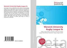 Couverture de Warwick University Rugby League 9s