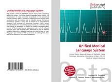 Bookcover of Unified Medical Language System