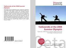 Borítókép a  Taekwondo at the 2008 Summer Olympics - hoz