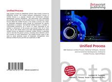 Bookcover of Unified Process