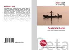 Capa do livro de Randolph Clarke