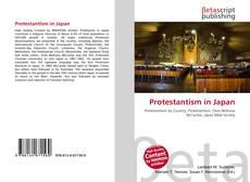 Bookcover of Protestantism in Japan
