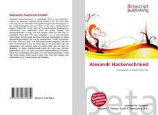 Bookcover of Alexandr Hackenschmied