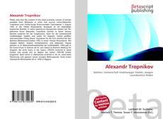 Bookcover of Alexandr Tropnikov