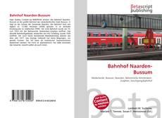 Bahnhof Naarden-Bussum kitap kapağı