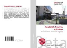 Bookcover of Randolph County, Arkansas