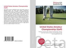 Обложка United States Amateur Championship (Golf)