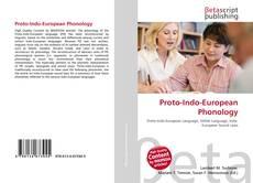 Обложка Proto-Indo-European Phonology
