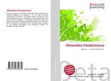 Bookcover of Alexandra Feodorowna