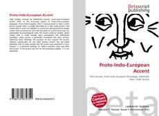 Обложка Proto-Indo-European Accent