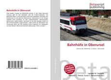Buchcover von Bahnhöfe in Oberursel
