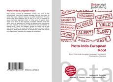 Обложка Proto-Indo-European Root