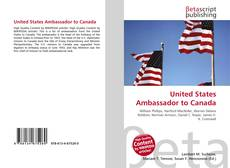 Copertina di United States Ambassador to Canada