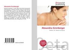 Обложка Alexandra Grünberger