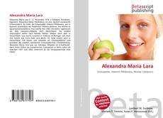 Обложка Alexandra Maria Lara