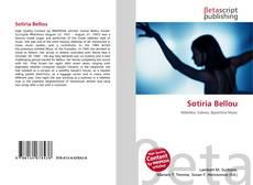 Portada del libro de Sotiria Bellou