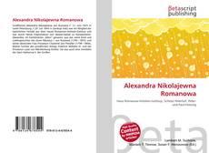 Bookcover of Alexandra Nikolajewna Romanowa