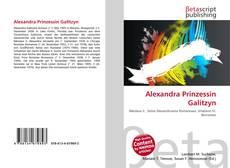 Bookcover of Alexandra Prinzessin Galitzyn