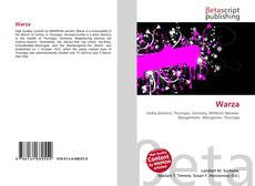 Bookcover of Warza