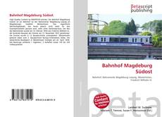 Borítókép a  Bahnhof Magdeburg Südost - hoz