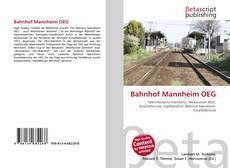 Обложка Bahnhof Mannheim OEG