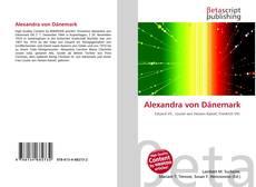 Bookcover of Alexandra von Dänemark