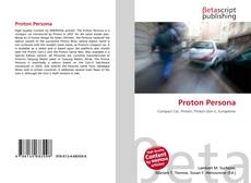 Proton Persona的封面