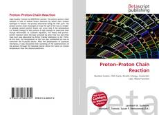 Proton–Proton Chain Reaction kitap kapağı