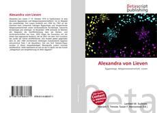Bookcover of Alexandra von Lieven