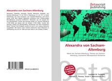 Bookcover of Alexandra von Sachsen-Altenburg