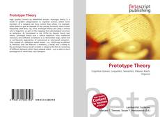 Bookcover of Prototype Theory
