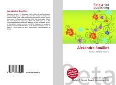 Buchcover von Alexandre Bouillot
