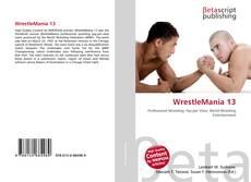 Bookcover of WrestleMania 13