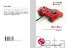 Capa do livro de Mario Bros.