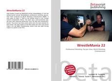 Обложка WrestleMania 22