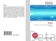 Bookcover of Prova