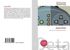 Capa do livro de Juno First