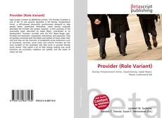 Bookcover of Provider (Role Variant)